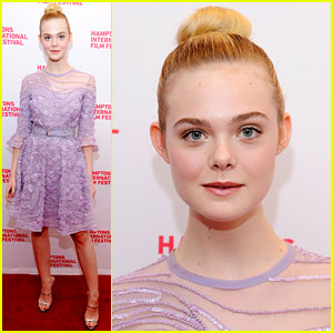Elle Fanning Is Elie Saab Elegant at '20th Century Woman' Screening