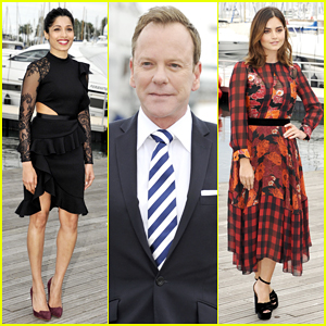 Freida Pinto, Kiefer Sutherland & Jenna Coleman Hit Cannes For Mipcom 2016!