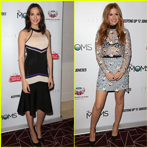 Gal Gadot & Isla Fisher Host Screening of 'Keeping Up With The Jonses' in WeHo!
