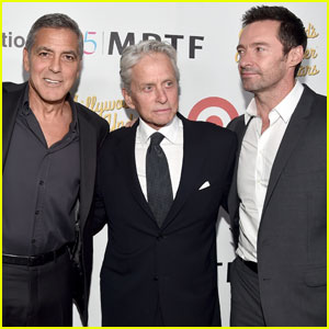 George Clooney & Hugh Hackman Celebrate MPTF Anniversary