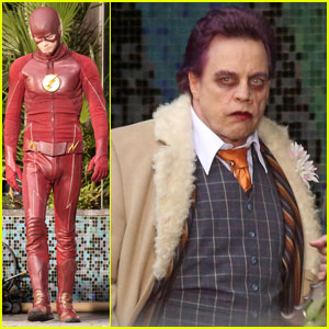 Mark Hamill Returns to 'The Flash' as Trickster in New Set Photos