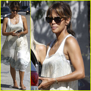 Halle Berry is a West Hollywood Lunch Beauty