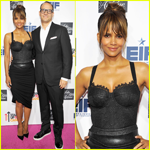 Halle Berry Supports Fighting Women's Cancers At Key To The Cure Celebration!