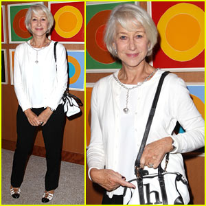 Helen Mirren Celebrates Film 'Eye in the Sky' at NYC Luncheon
