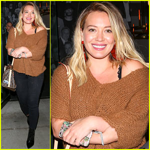 Hilary Duff Says She's 'Pumped to be a Soccer Mom'!