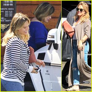 Hilary Duff & Boyfriend Jason Walsh Make it Instagram Official!
