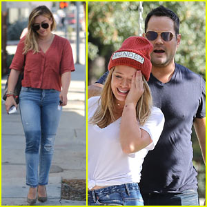Hilary Duff Hangs Out with Ex Mike Comrie Before Grabbing Lunch with New Boyfriend Jason Walsh!