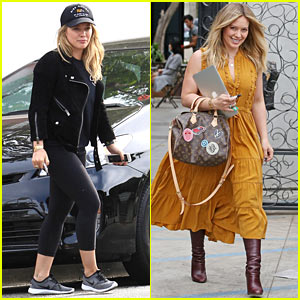 Hilary Duff Says She Loves Shopping But is 'Really Bad at Laundry!' (Video)