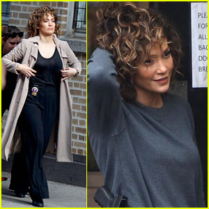 Jennifer Lopez Gets to Business on 'Shades of Blue' Set!