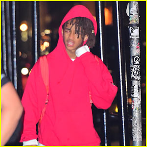 Jaden Smith Works Up a Late Night Sweat
