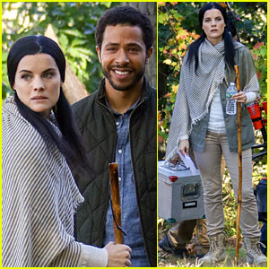 Jaimie Alexander 'Crawls Around the Woods' While Filming for 'Blind Spot'