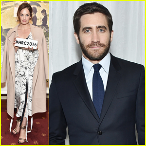 Jake Gyllenhaal & Ruth Wilson Reunite At New York City Center Gala 2016!
