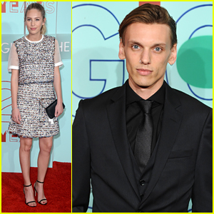 Dylan Penn & Jamie Campbell Bower Step Out For The Hugo Prize 2016