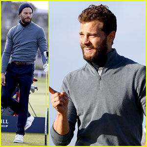 Jamie Dornan Continues Playing in the Alfred Dunhill Tournament