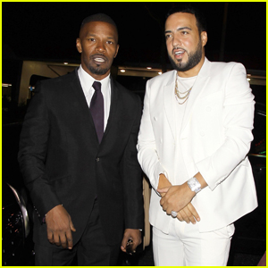 Jamie Foxx & French Montana Stop By Drake's Birthday Party