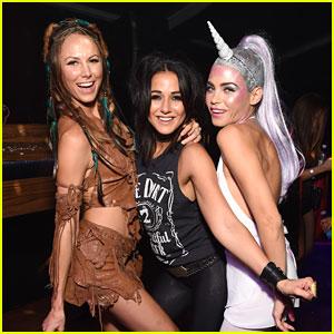 Jenna Dewan-Tatum Is a Unicorn Alongside Rocker Emmanuelle Chriqui at Casamigos Halloween Party!