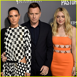 Jennifer Connelly & Ewan McGregor Bring 'American Pastoral' to L.A. with Dakota Fanning!