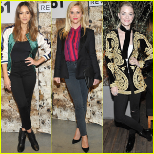 Jessica Alba Gets Support From Reese Witherspoon & Friends at 'DL1961' Launch