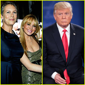 Jamie Lee Curtis Defends Lindsay Lohan After Donald Trump Called Her 'Deeply Troubled' & 'Probably Great in Bed'