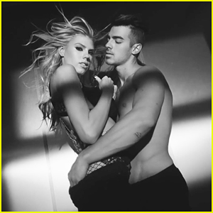 Joe Jonas Goes Shirtless With Charlotte McKinney In DNCE 'Body Moves' Music Video - Watch Now!