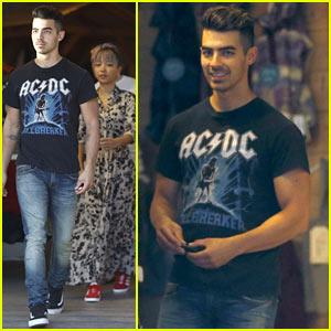 Joe Jonas Goes Shopping with DNCE Bandmate JinJoo Lee