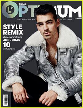 Joe Jonas Covers 'L'Optimum' October 2016