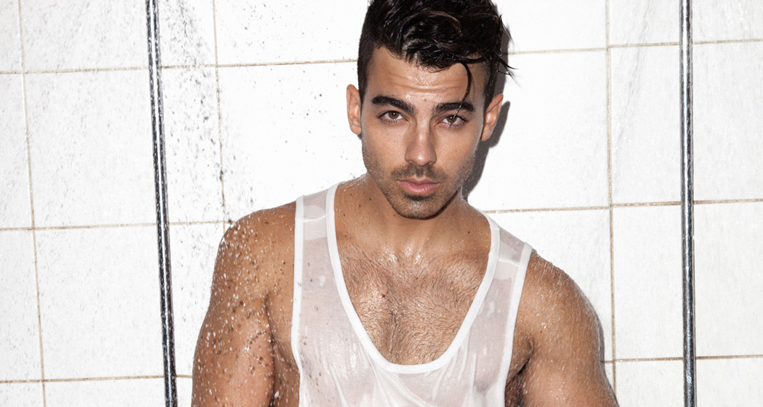 Joe Jonas Gets In The Shower With Notion Magazine Dnce