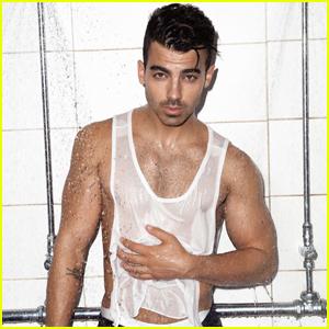 Joe Jonas Gets in the Shower With 'Notion Magazine'