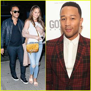 John Legend & Chrissy Teigen Pull Double Event Duty In NYC!