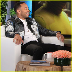 John Legend Talks About Campaigning With Hillary Clinton