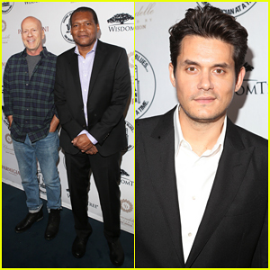 John Mayer & Bruce Willis Hit The Stage At Great Night in Harlem Gala 2016!