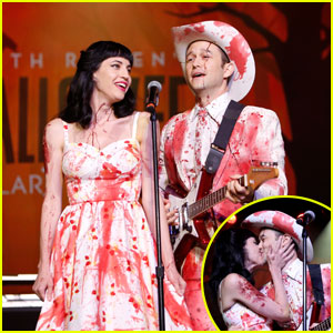 Joseph Gordon-Levitt Makes Rare Appearance With Wife Tasha McCauley at Seth Rogen's Hilarity for Charity Event!