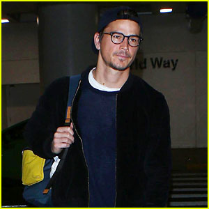 Josh Hartnett Steps Out at LAX Airport for Rare Sighting