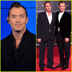 Jude Law Premieres 'The Young Pope' in Rome!