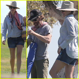 Julia Roberts & Husband Daniel Moder Cheer On Their Daughter at Her Soccer Match