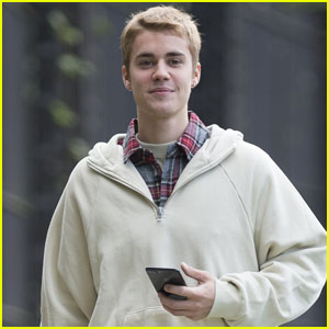 Justin Bieber is All Smiles During North London Stroll