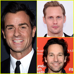 Justin Theroux Joins Alexander Skarsgard & Paul Rudd in Netflix Movie!