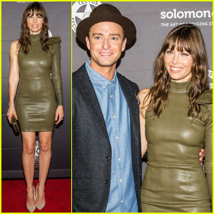 Justin Timberlake & Jessica Biel Couple Up for 'The Book of Love' Premiere in New Orleans