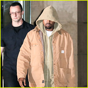 Kanye West Steps Out in New York City with His Bodyguard