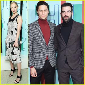 Kate Bosworth, Zachary Quinto & Boyfriend Miles McMillan Celebrate Hugo Boss Prize 20th Anniversary!