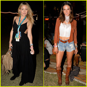 Kate Hudson & Alessandra Ambrosio Are Desert Trip Beauties!