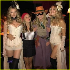 kate hudson gwyneth paltrow go wild west for her halloween bash - Halloween On The Hudson