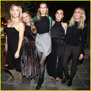 Kate Hudson, Sara & Erin Foster Live It Up At Roe Caviar's 2016 Harvest Feast!