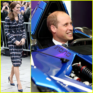 Kate Middleton Shows Off Her Fall Fashion in Manchester