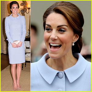 Kate Middleton Meets King Willem Alexander of The Netherlands!
