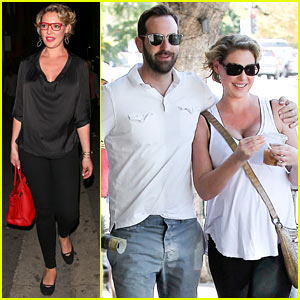 Katherine Heigl & Josh Kelley Step Out for a Lunch Date After His Concert