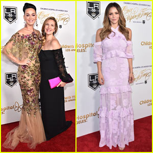 Katy Perry, Drew Barrymore, & More Bring High Fashion to Children's Hospital LA Gala
