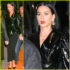 Katy Perry Celebrates Her Birthday at Kanye West's Concert