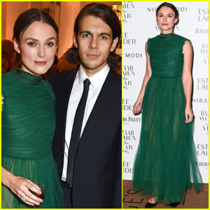 Keira Knightley & Husband James Righton Couple Up At Harper's Bazaar Women Of The Year Awards