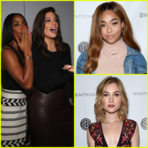 Kelly Rowland, Ashley Graham, & More Attend Beautycon in NYC